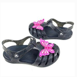 NWT, Crocs Isabelle kids butterfly sandals